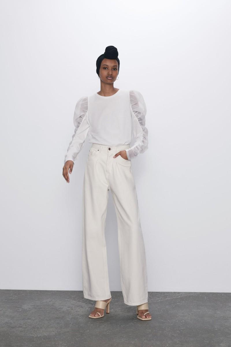 Zara μπλουζάκια