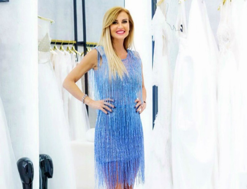 Eνα καταπληκτικό φόρεμα από την ANNA VENETI