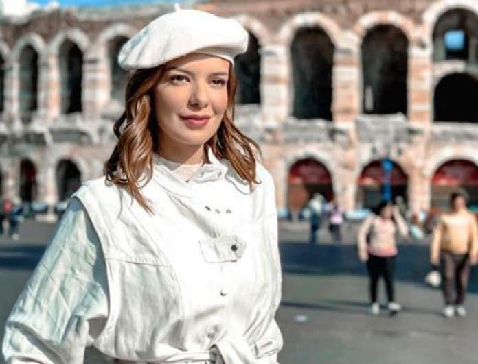 Νικολέττα Ράλλη: Μας δείχνει την φουσκωμένη της κοιλίτσα και