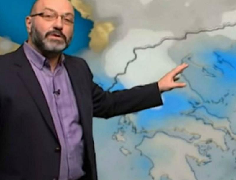 Ο Σάκης Αρναούτογλου προειδοποιεί για τον καιρό της Τσικνοπέμπτης - Δυσάρεστα τα νέα
