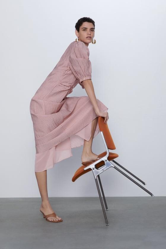 φόρεμα με σούρα