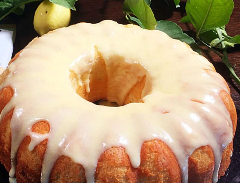 Κέικ αγγέλων με λεμόνι - Οργασμός γεύσεων από την Βέφα Αλεξιάδου