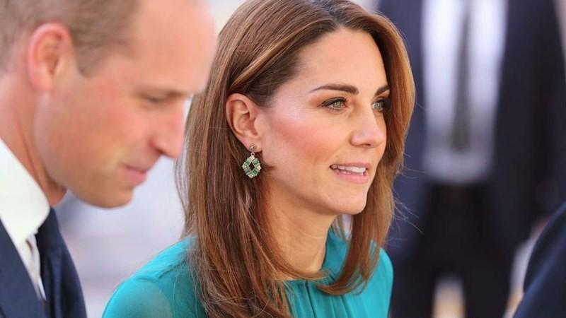 Kate Middleton σκουλαρίκια