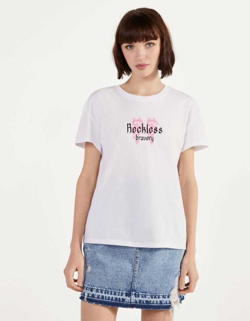 Bershka μπλουζάκια