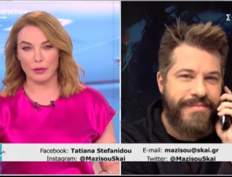 Απολαυστικός ο Χάρης Βαρθακούρης - «Με την Αντελίνα στο σπίτι γίναμε Big Brother»