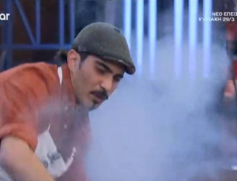 MasterChef: Έπιασε φωτιά στην κουζίνα - Ανησύχησε ο Πάνος Ιωαννίδης