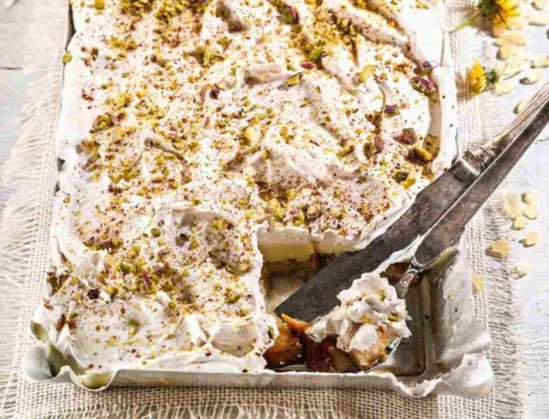 Εκμέκ με τσουρέκι και κανέλα από την Αργυρώ Μπαρμπαρίγου - Η γεύση του θα σε «αποτελειώσει»