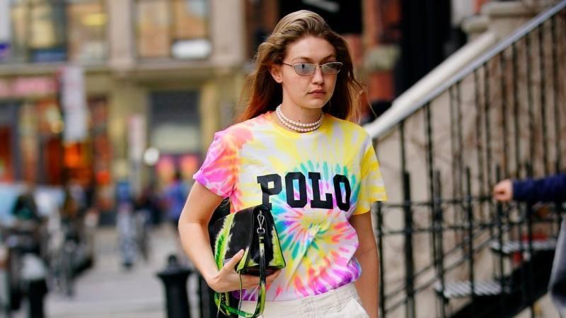 Tie Dye Gigi Hadid trend μόδα