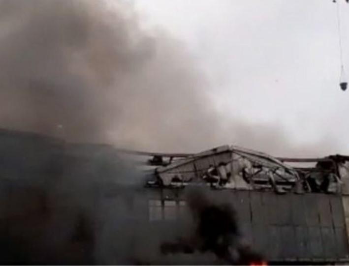 Σοκ στην Ρωσία: Φωτιά σε εργοτάξιο - Αναφορά για νεκρό