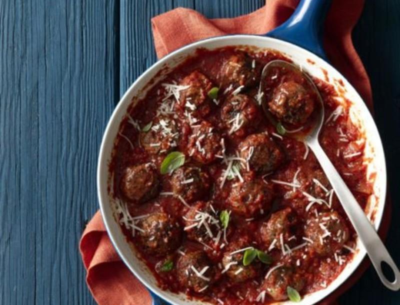 Κάντο αλά Ιταλικά - Κεφτεδάκια σε κόκκινη σάλτσα για το πιο τέλειο μεσημεριανό