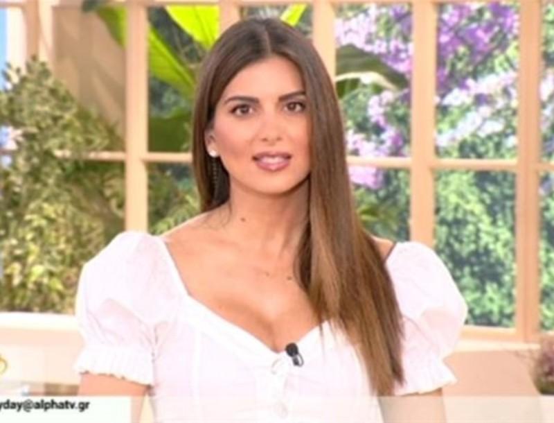 Η απίστευτη ατάκα της Σταματίνας Τσιμτσιλή στην Φαίη Σκορδά - Την είπε στον αέρα του ALPHA
