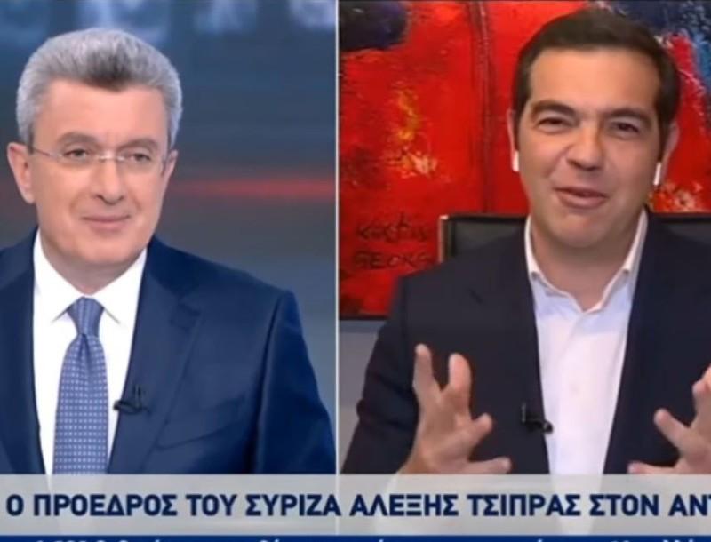 Τα νούμερα που έκανε ο Αλέξης Τσίπρας στο δελτίο ειδήσεων του Νίκου Χατζηνικολάου
