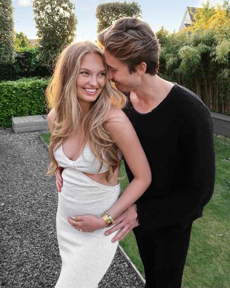 Αγγελάκι Victoria's Secret Romee Strijd έγκυος