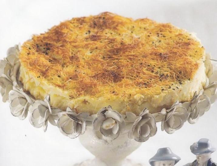 Λαχταριστή τυρόπιτα με κανταΐφι από την Μαρία Εκμεκτσίογλου - Η φέτα λιώνει στο στόμα