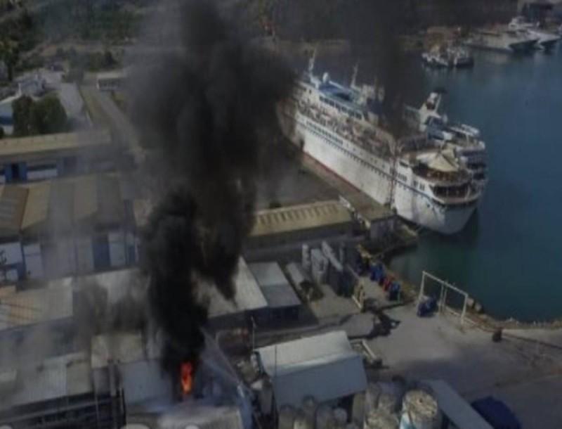 Συναγερμός στη Χαλκίδα: Φωτιά σε εργοστάσιο