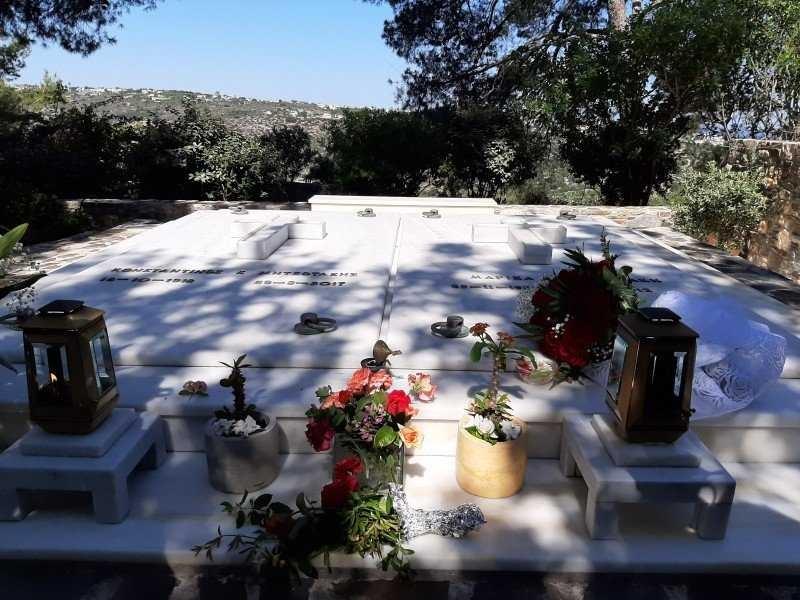 Κυριάκος Μητσοτάκης πατέρας Κωνσταντίνος θάνατος