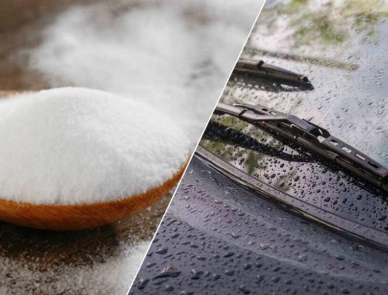 Ρίξτε μαγειρική σόδα στους υαλοκαθαριστήρες του αυτοκινήτου - Το μαγικό μείγμα που θα σας σώσει