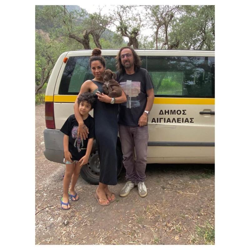 Μαριάντα Πιερίδη οικογένεια