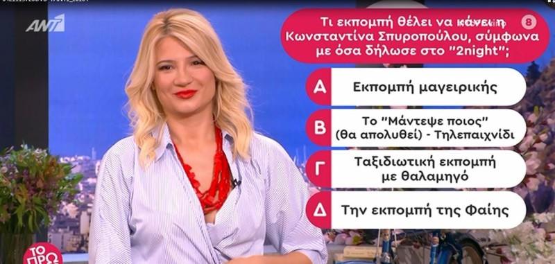 Φαίη Σκορδά Κωνσταντίνα Σπυροπούλου