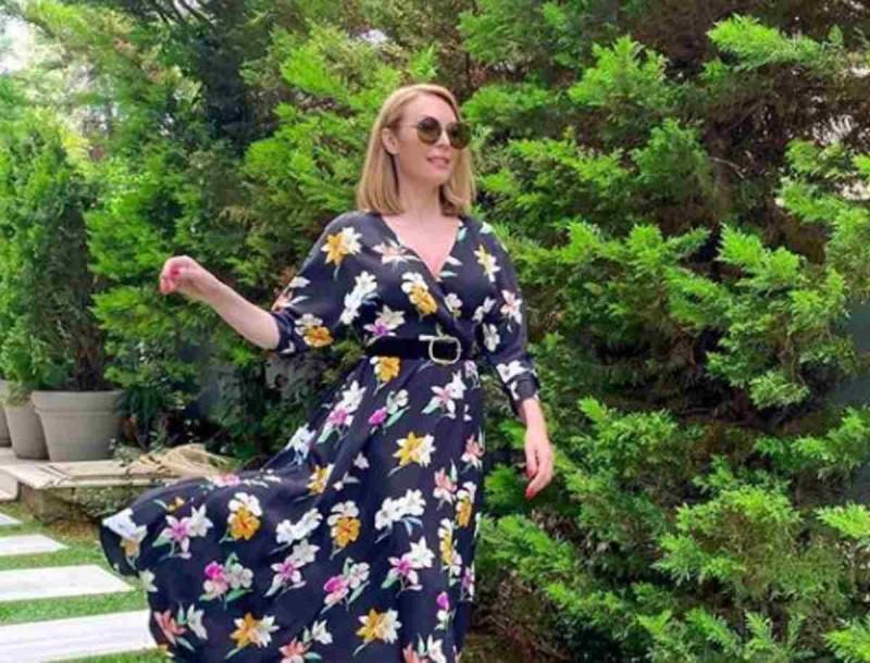 Τατιάνα Στεφανίδου: Ο κήπος στο σπίτι της είναι καταπράσινο και τεράστιος σαν... γήπεδο