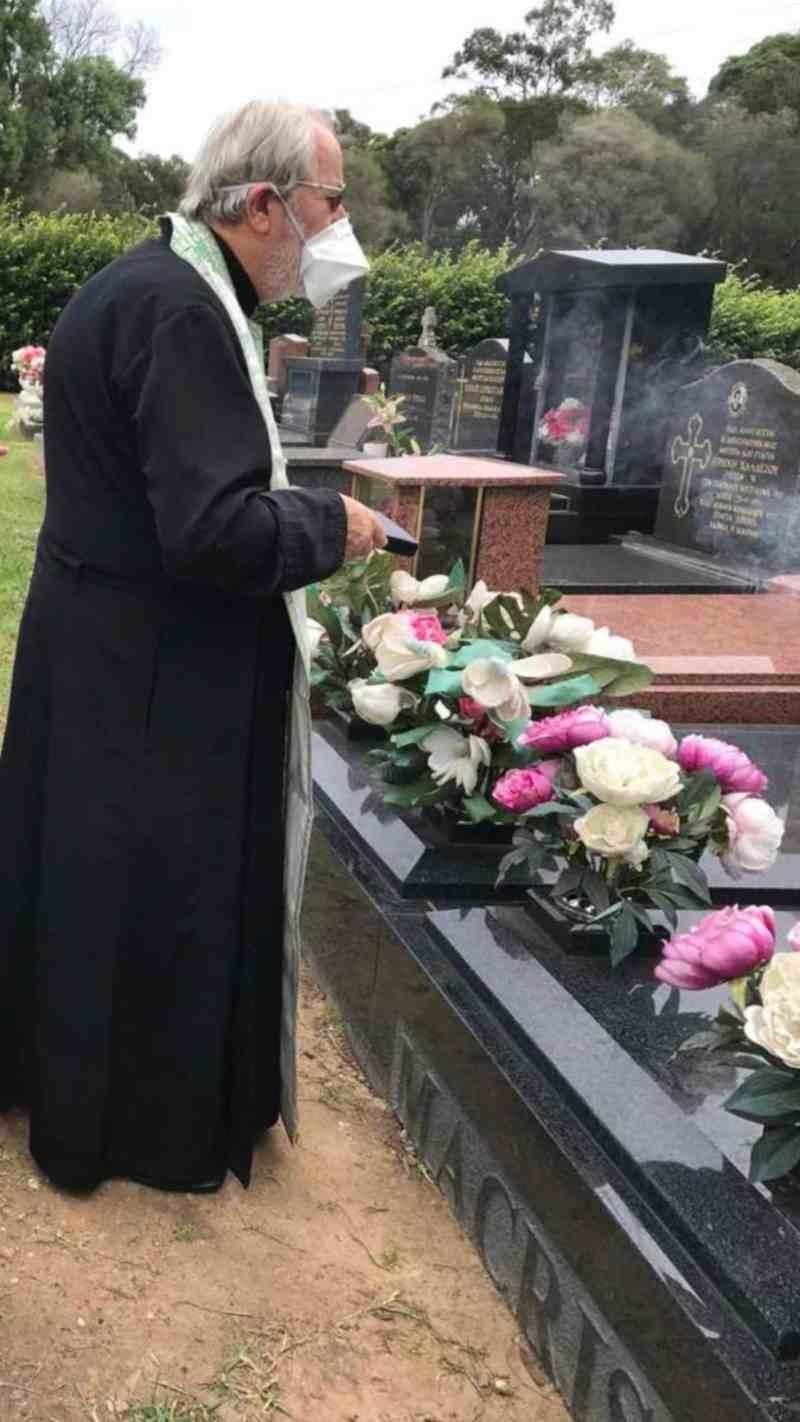 Γιάννης Μακρής τάφος
