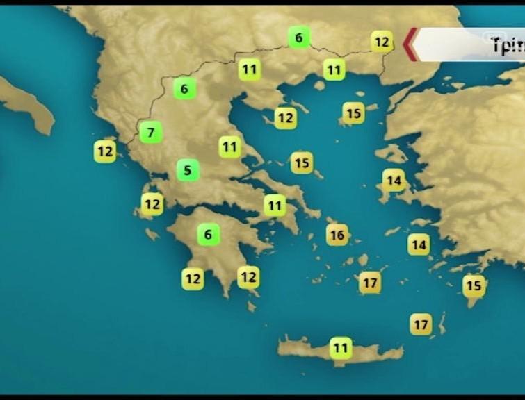 Προειδοποιεί ο Σάκης Αρναούτογλου: Η περιοχή που θα δεχτεί την Τρίτη περισσότερες βροχές και καταιγίδες