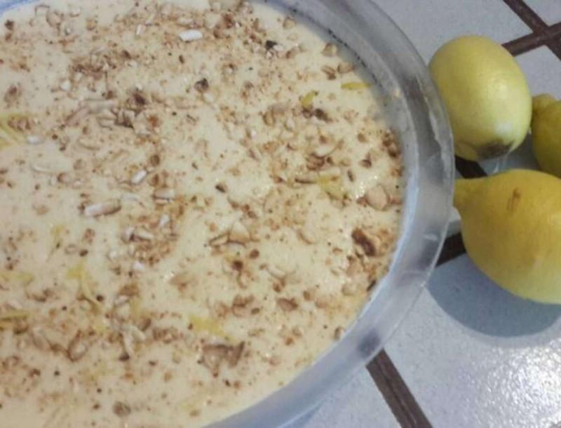 Δροσερό γλυκό ψυγείου με λεμόνι και αμύγδαλα από την Βέφα Αλεξιάδου