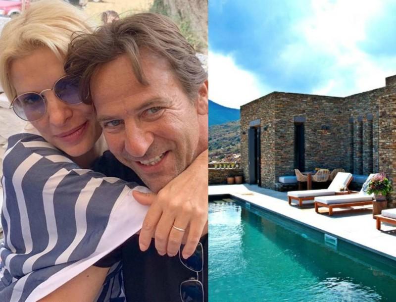 Ματέο Παντζόπουλος: Πόσο; Τόσο κοστίζει για τον Αύγουστο μια βραδιά στο ξενοδοχείο του συζύγου της Ελένης Μενεγάκη