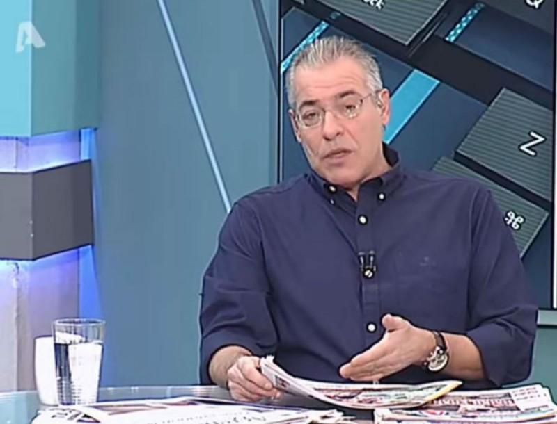 ALPHA: Και δεύτερη καταγγελία στο ΕΣΡ για το Νίκο Μάνεση;