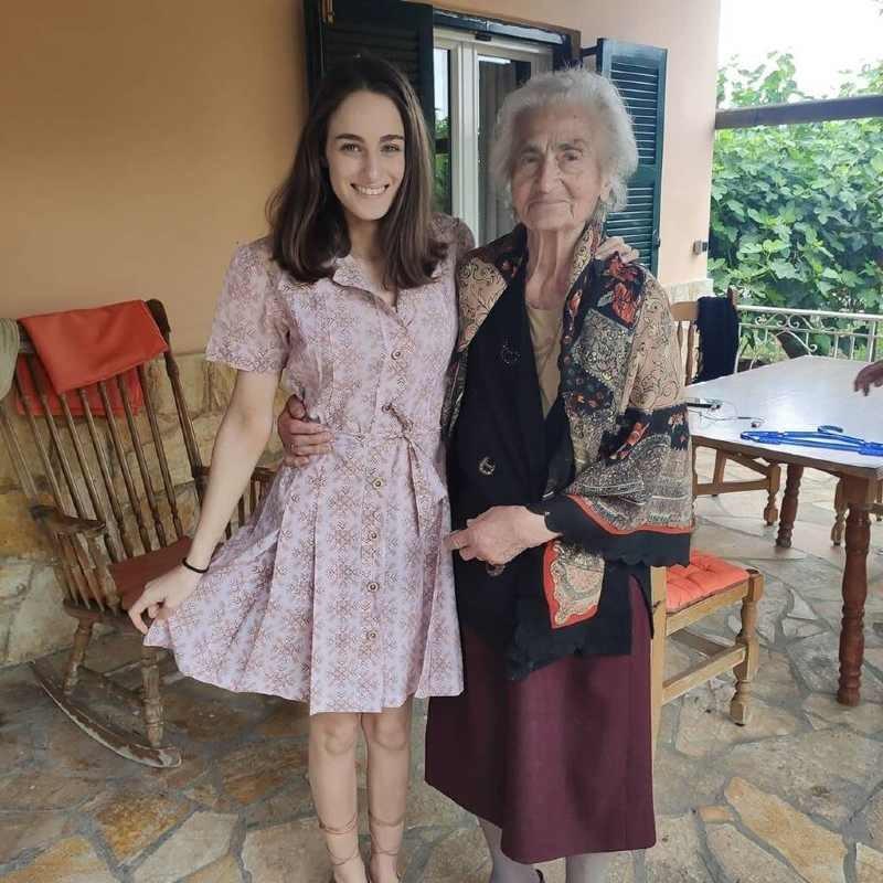Μαρία Βοσκοπούλου κόρη Τόλη και Άντζελας Γκερέκου