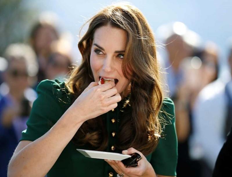 Kate Middleton: Αυτή την τροφή τρώει για να