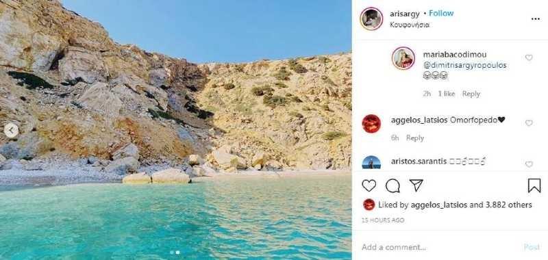 Άγγελος Λάτσιος Instagram