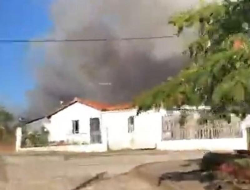Συναγερμός στην Ροδόπη - Εκκενώνεται οικισμός λόγω φωτιάς