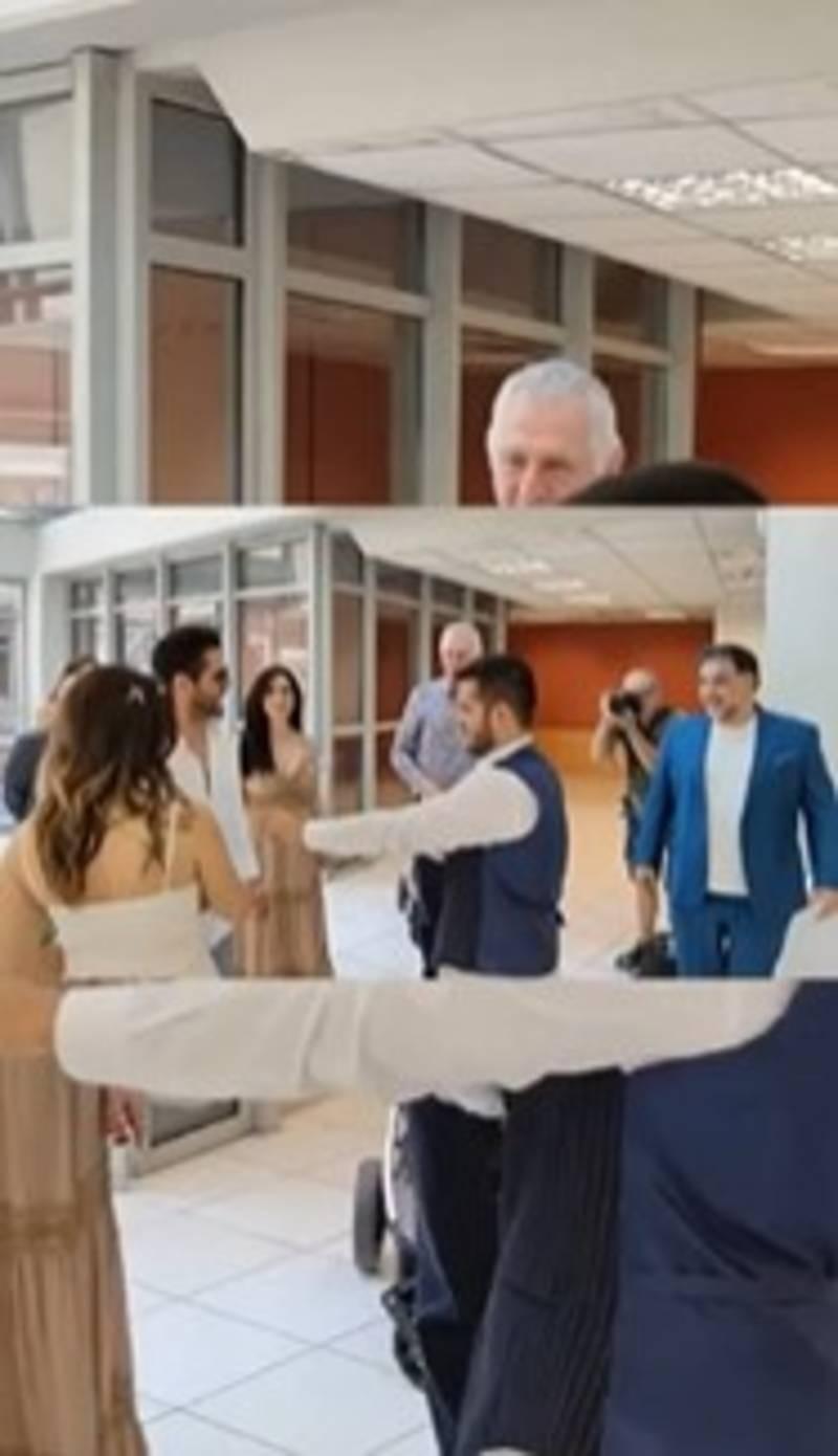 Γάμος showbiz κουμπάροι Γρηγόρης Αρναούτογλου Νάνσυ Αντωνίου