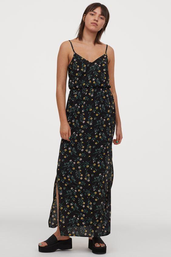 maxi φόρεμα H&M