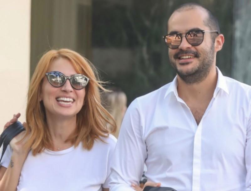 Μαρία Ηλιάκη - Στέλιος Μανουσάκης: Πιο ερωτευμένοι από ποτέ - Τα τρυφερά στιγμιότυπα