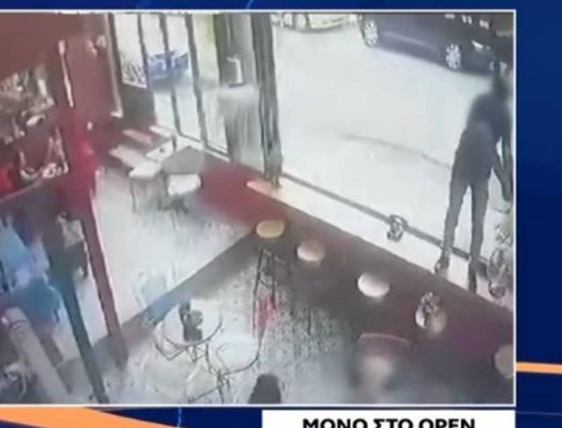 Ανατριχιάζει το βίντεο - ντοκουμέντο από τη δολοφονία στην καφετέρια του Μάνου Παπαγιάννη