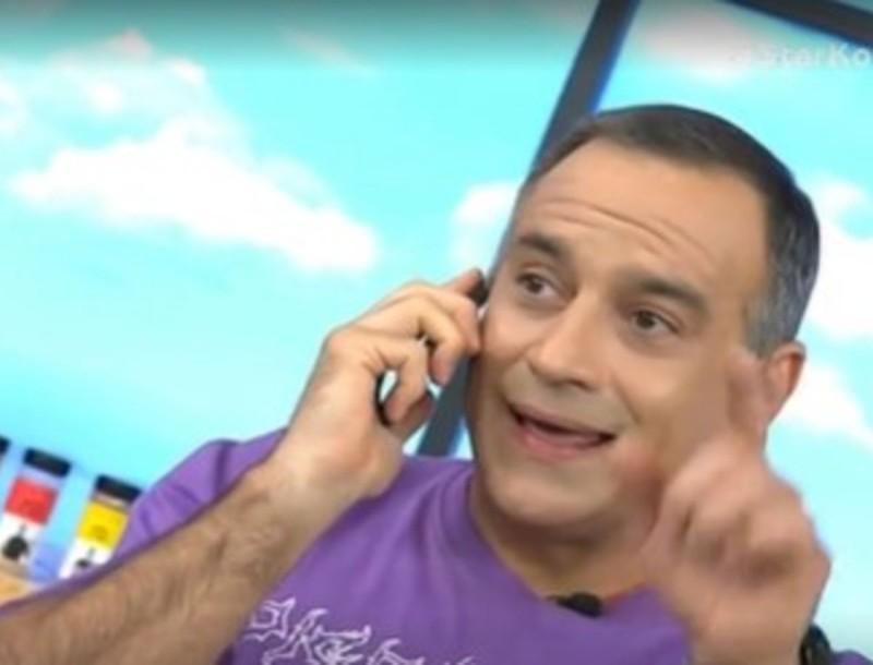 Κρατερός Κατσούλης: Το τηλεφώνημα που δέχτηκε από την κόρη του στον αέρα του STAR