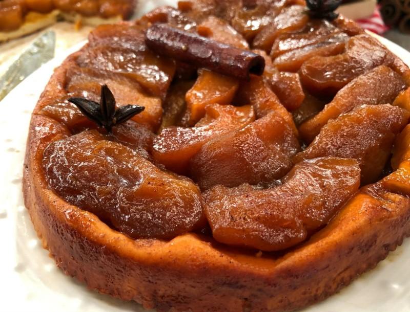 Αυθεντική Γαλλική μηλόπιτα με κανέλα και γλυκάνισο - Απλή και πεντανόστιμη