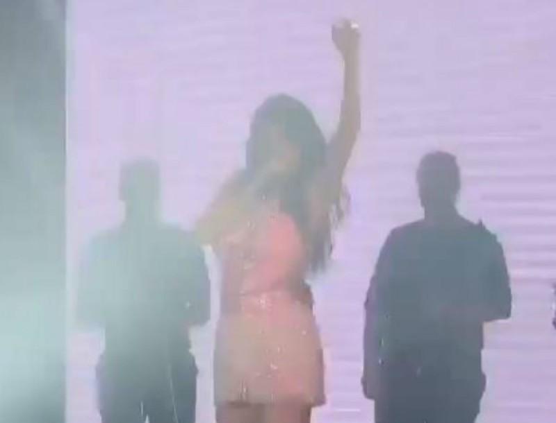 Σίστηκε το Teatro - Το συγκλονιστικό βίντεο της Πάολα από την πιο ανατριχιαστική στιγμή της βραδιάς