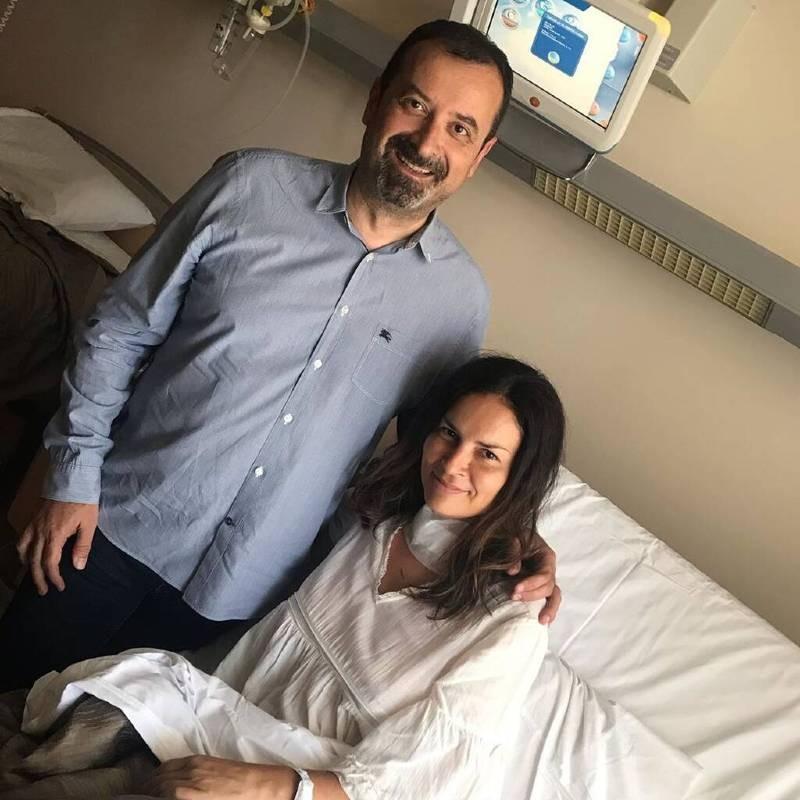 Αντώνης Βλοντάκης σύζυγος νοσοκομείο