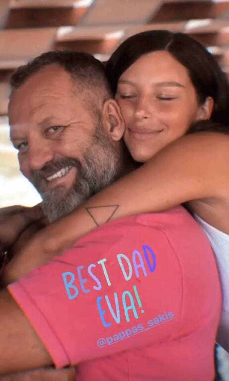 Χαρά Παππά πρόσωπο μπαμπά