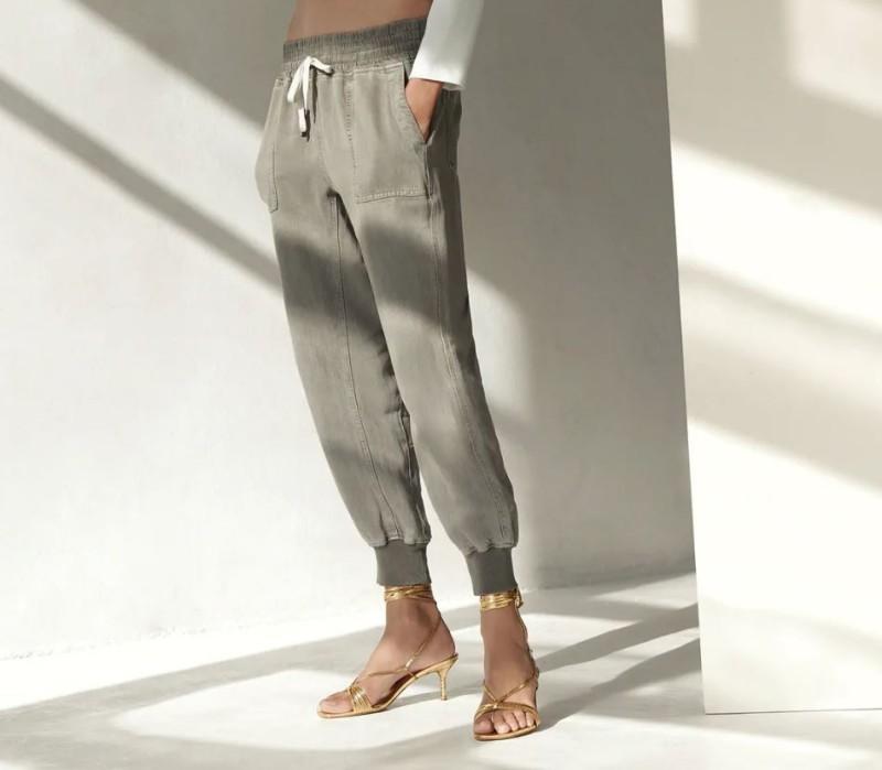 Zara πράσινο παντελόνι