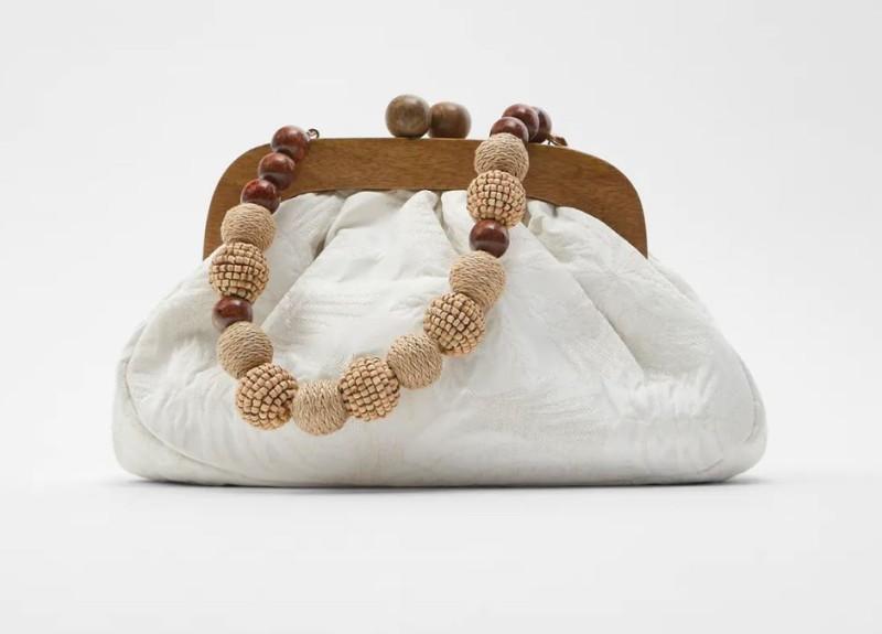 Zara τσάντα πουγκί