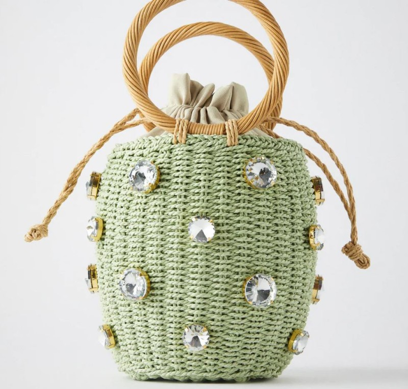Zara τσάντες καλάθι