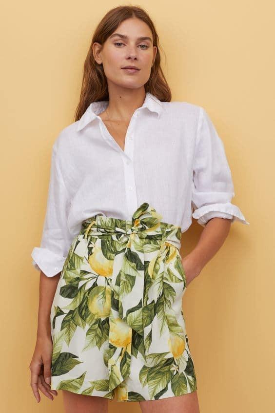 H&M Εξωτική φούστα