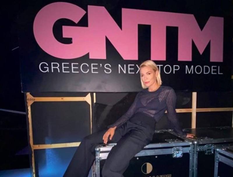 Στο στούντιο με το πιο πολυσυζητημένο πρόσωπο του GNTM 3 η Βίκυ Καγιά