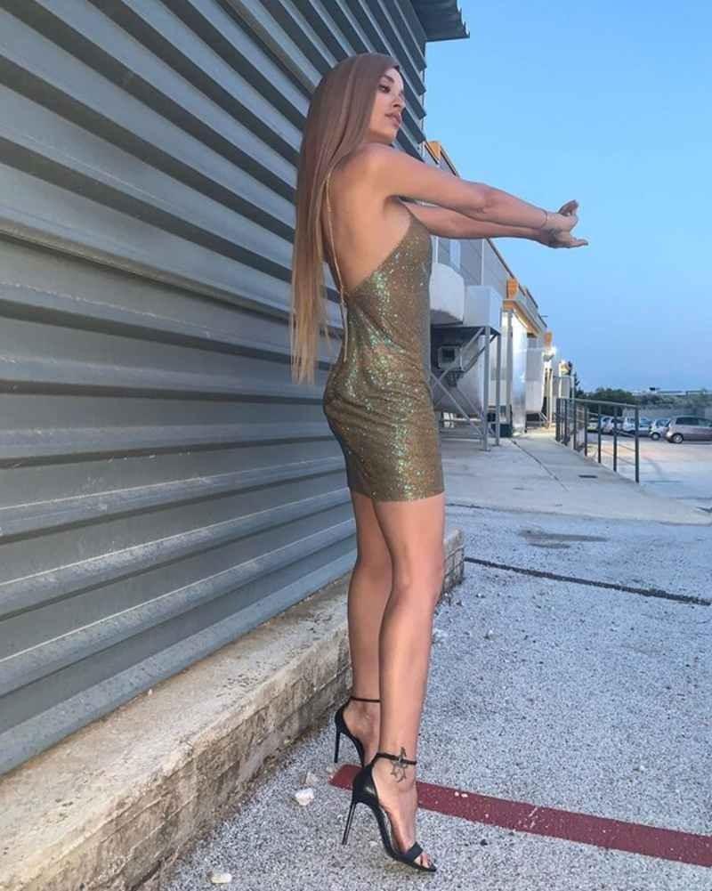 Ελένη Φουρέιρα εμφάνιση instagram