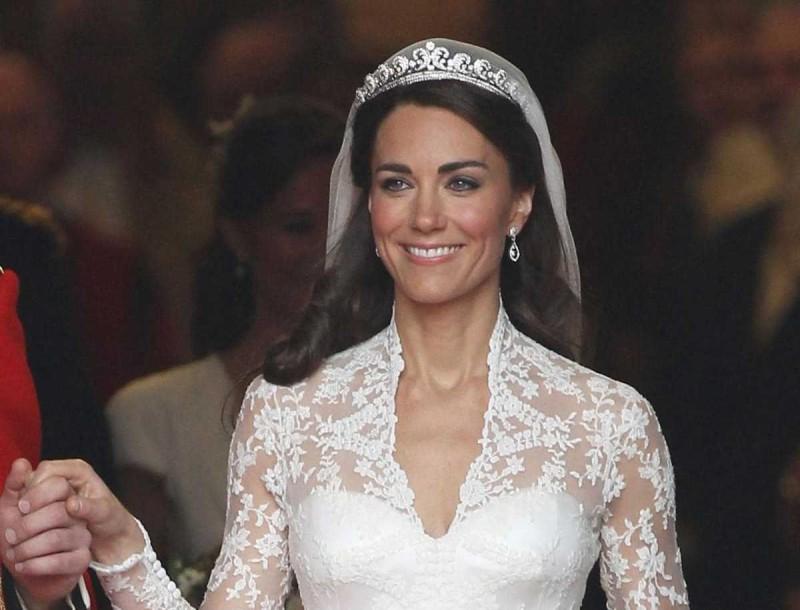 Ξέσπασε σε κλάματα η Kate Middleton στον γάμο της