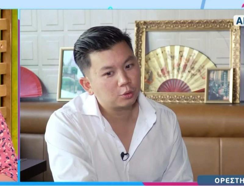 Ορέστης Τσάνγκ: Αποκάλυψε ότι θα παίξει σε ταινία - Θα μιλάει κινέζικα
